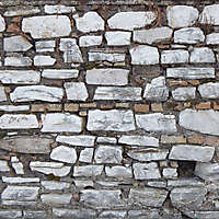 medieval messy stones wall 13