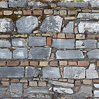 medieval messy stones wall 14