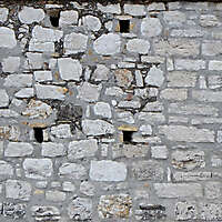 medieval messy stones wall 15