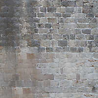 medieval messy stones wall 16