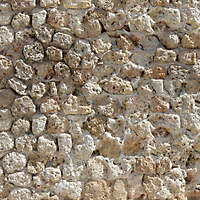 medieval messy stones wall 3