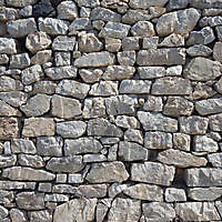 medieval messy stones wall 5