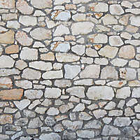 medieval messy stones wall 7