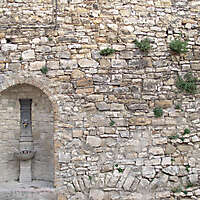 medieval old wall 11
