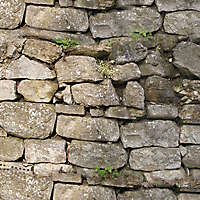 medieval old wall 16