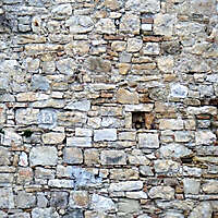 old stone wall medieval