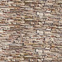 rock bricks brown