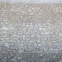 rock bricks wall modern