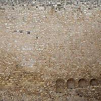 stone bricks wall with door 5