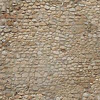 stone bricks wall with door 7