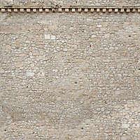 stone bricks wall with door 8