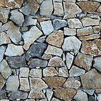 Stone messy bricks