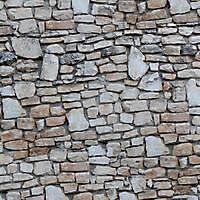white rocks bricks wall 2