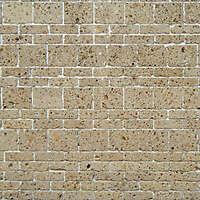 brown tufe bricks tile