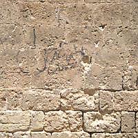 tufo broken with concrete