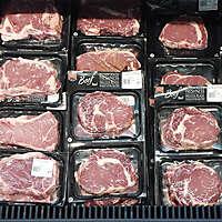 market fridge beef meet