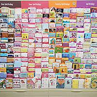 market shelves cards