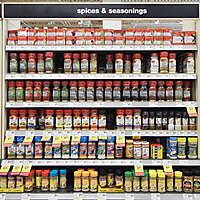 market shelves herbs spices and seasonings 2