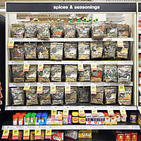 market shelves herbs spices and seasonings 3