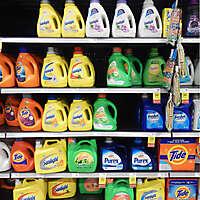 market shelves washing machine soap 1