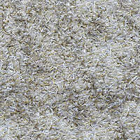 yellow white brown hairy carpet