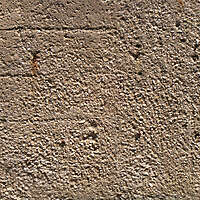 concrete with rocks
