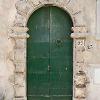 door medieval year 1500