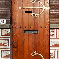 medieval planks door
