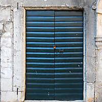 old clean decorated wood door 13