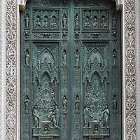 medieval old wood door 8