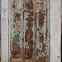 rusted metal door from venice 2
