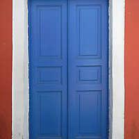 blue storic greek door 2