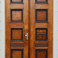 neoclassical wood door 10