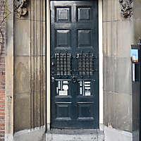 neoclassical wood door 14