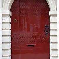 neoclassical wood door 15