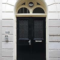 neoclassical wood door 16