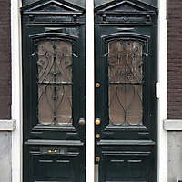 neoclassical wood door 17