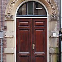 neoclassical wood door 19