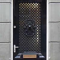neoclassical wood door 21