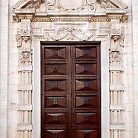 neoclassical wood door 2