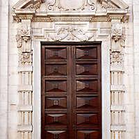 neoclassical wood door 2