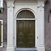 neoclassical wood door 7