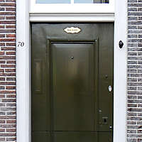 neoclassical wood door 8