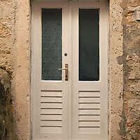old clean decorated wood door 11