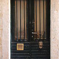 old clean decorated wood door 12