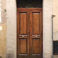 old clean decorated wood door 24