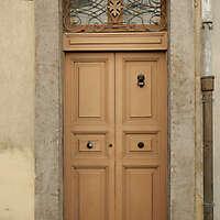 old clean decorated wood door 26