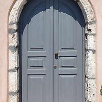 old clean decorated wood door 18