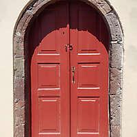 old clean decorated wood door 19