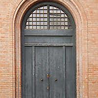 old clean decorated wood door 7